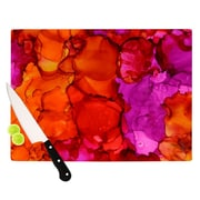 KESS InHouse Fierce by Claire Day Cutting Board; 0.5'' H x 15.75'' W x 11.5'' D