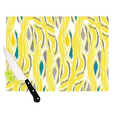 KESS InHouse Barengo Sunshine by Gill Eggleston Cutting Board; 0.5'' H x 11'' W x 7.5'' D