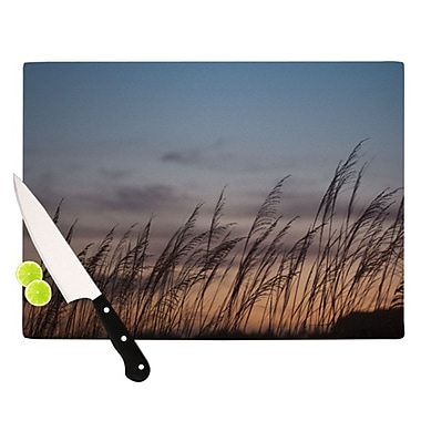 KESS InHouse Sunset on the Beach by Catherine McDonald Cutting Board; 0.5'' H x 15.75'' W x 11.5'' D