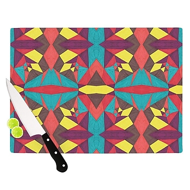 KESS InHouse Abstract Insects by Empire Ruhl Cutting Board; 0.5'' H x 15.75'' W x 11.5'' D