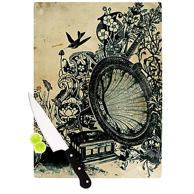 KESS InHouse Sound of Nature by Frederic Levy-Hadida Cutting Board; 0.5'' H x 15.75'' W x 11.5'' D