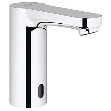 Grohe Eurosmart Single Hole Bathroom Sink Faucet; Concealed Temperature Control