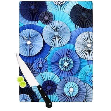 KESS InHouse Blue Lagoon by Heidi Jennings Cutting Board; 0.5'' H x 15.75'' W x 11.5'' D