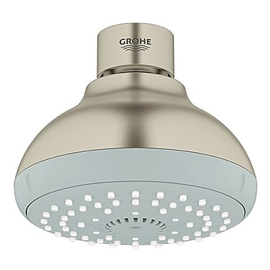 Grohe Tempesta Shower Head; Brushed Nickel