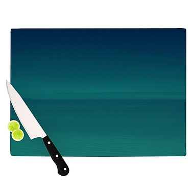 KESS InHouse When We're Together by Robin Dickinson Cutting Board; 0.5'' H x 11'' W x 7.5'' D