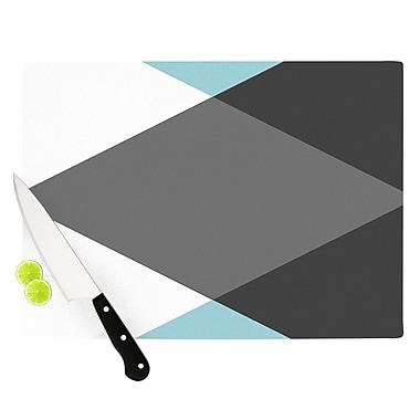 KESS InHouse Diamonds by Suzanne Carter Cutting Board; 0.5'' H x 15.75'' W x 11.5'' D
