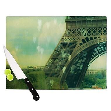KESS InHouse Paris Dreams by Ann Barnes Tower Cutting Board; 0.5'' H x 11'' W x 7.5'' D