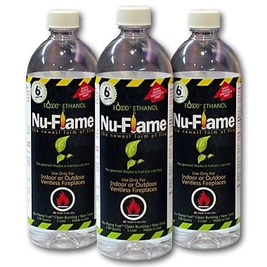 Nu-Flame Liquid Ethanol Fuel (Set of 3)