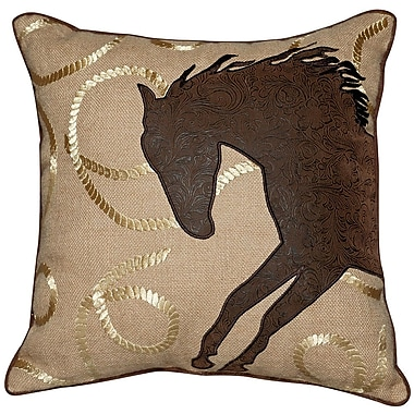 Rightside Design Abigail and Lily Equine Throw Pillow