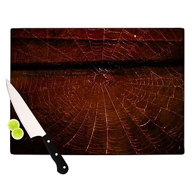 KESS InHouse Dark Web by Robin Dickinson Cutting Board; 0.5'' H x 15.75'' W x 11.5'' D