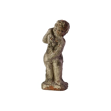 Urban Trends Home and Garden Accents Stoneware Four Seasons Statue