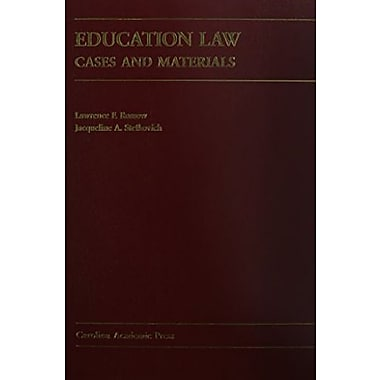 Education Law: Cases And Materials, Used Book (9781594600593)