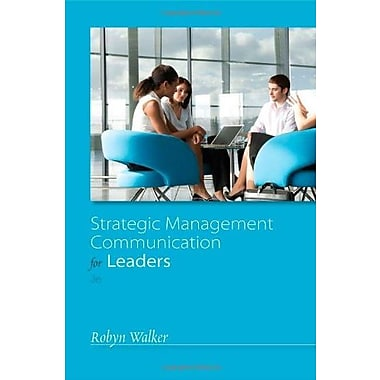 Strategic Management Communication for Leaders, New Book (9781133933755)