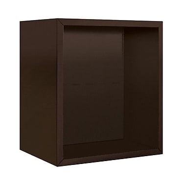 Salsbury Industries 21''H x 18''W x 18''D Surface Mounted Enclosure; Bronze