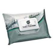 NICE-PAK PRODUCTS, INC Table Turner Wet Wipes in White