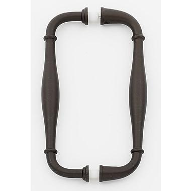 Alno 6'' Center Arch Pull; Chocolate Bronze