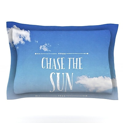 KESS InHouse Chase the Sun by Susannah Tucker Featherweight Pillow Sham; Queen