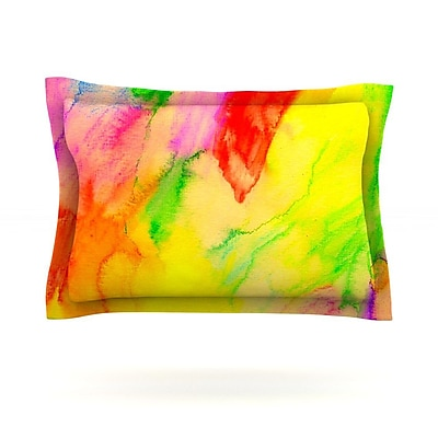 KESS InHouse Chemical Lovestory by Sreetama Ray Featherweight Pillow Sham; Queen WYF078277503051