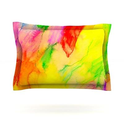 KESS InHouse Chemical Lovestory by Sreetama Ray Featherweight Pillow Sham; King WYF078277503015