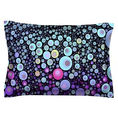 KESS InHouse Deep Blue by Sylvia Cook Featherweight Pillow Sham; Queen