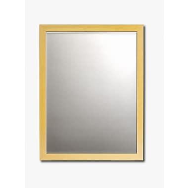 Printfinders Wall Mirror; 24'' H x 28'' W x 1'' D