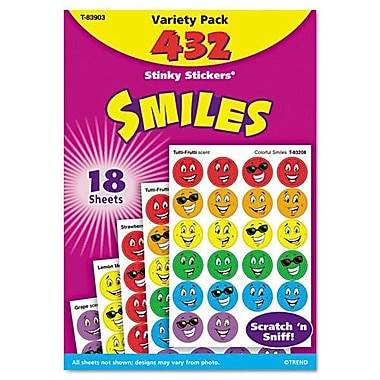 Trend Smiles Stinky Sticker (Set of 432)