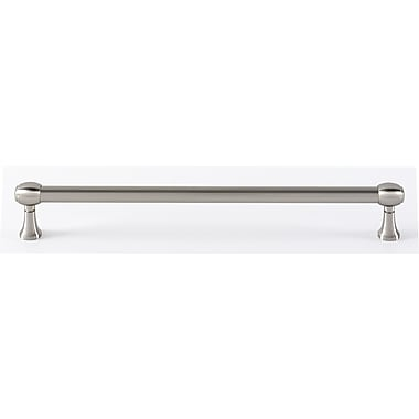 Alno 6'' Center Bar Pull; Satin Nickel