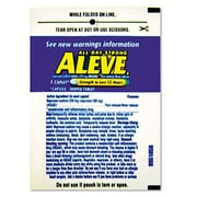 LIL DRUGSTORE Aleve Pain Reliever Tablets Refill Packs, 30 Packs/Box