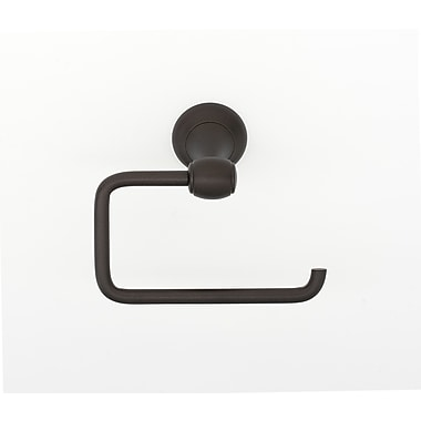 Alno Wall Mounted Single Post Tissue Holder; Chocolate Bronze