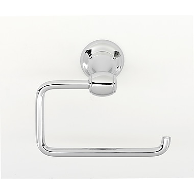 Alno Wall Mounted Single Post Tissue Holder; Polished Chrome