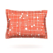 KESS InHouse Woven Web by Budi Kwan Woven Pillow Sham; King