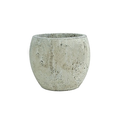 Syndicate Sales Concrete Pot Planter; Weathered Slate