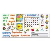 Trend Monthly Calendar Bulletin Board Cut Out Set