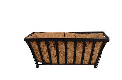 Arcadia Garden Products Solstice Metal Planter Box