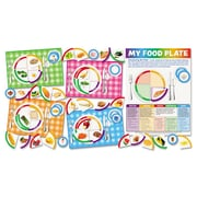 Scholastic My Food Plate Bulletin Board Cut Out Set