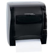 Kimberly-Clark 13'' In-Sight Lev-R-Matic Roll Towel Dispenser in Smoke / Gray