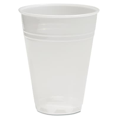 Boardwalk Translucent Plastic Cold Cups, 5 oz, Translucent, Plastic, 2500/Carton (BWK TRANSCUP5) BWKTRANSCUP5CT
