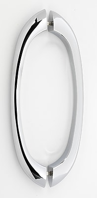 Alno 8'' Center Arch Pull; Polished Chrome