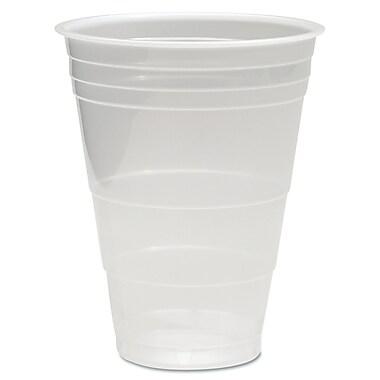 Boardwalk® Translucent Plastic Cold Cups, 16 oz, Translucent, Plastic, 1000/Carton (BWK TRANSCUP16)