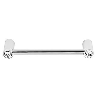 Alno 6'' Center Bar Pull; Polished Chrome