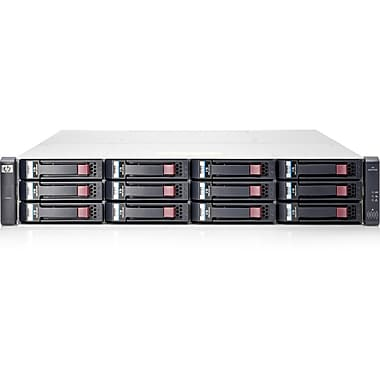HP 1040 SAN Array, 12 x HDD Supported, 48 TB Supported HDD Capacity, 6Gb/s SAS Controller, 12 x Total Bays, (E7W01SB)