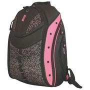 "Mobile Edge Black/Pink Ribbon Poly Women's Express Backpack For 16"" Notebook."