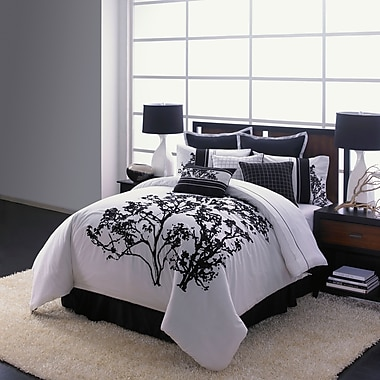 Adrien Lewis Berlin 5-Piece Embroidered Comforter Set, Queen, Multi