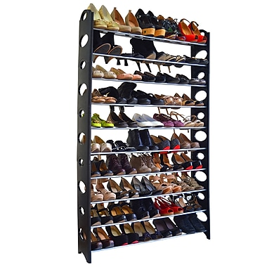 Studio 707 50 Pair Shoe Rack, 36