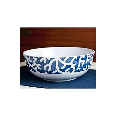 Galleyware Company Yacht and Home Melamine Serving Bowl; Blue