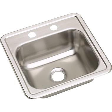 Elkay Dayton 15'' x 15'' Drop-In Bar Sink; 1 Hole