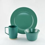 Galleyware  Company Melamine 12 Piece Dinnerware Set, Service for 4; Seafoam
