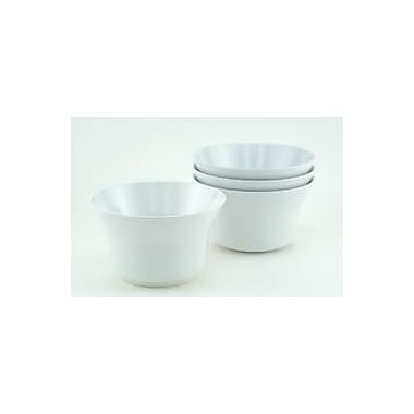 Galleyware Company 16 oz. Melamine Non-skid Soup/Cereal Bowl (Set of 6); White