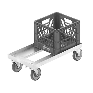 Channel Manufacturing 300 lb. Capacity Milk Crate Furniture Dolly