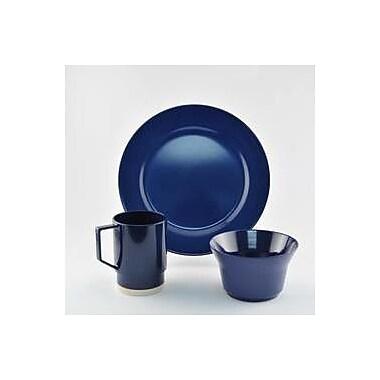 Galleyware Company Melamine 18 Piece Dinnerware Set, Service for 6; Blue